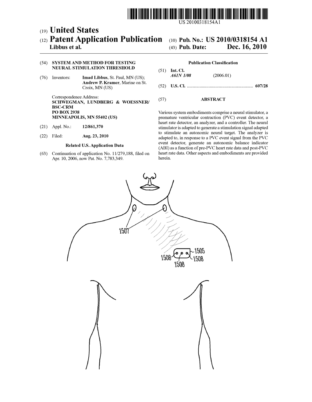 SYSTEM AND METHOD FOR TESTING NEURAL STIMULATION THRESHOLD - diagram, schematic, and image 01