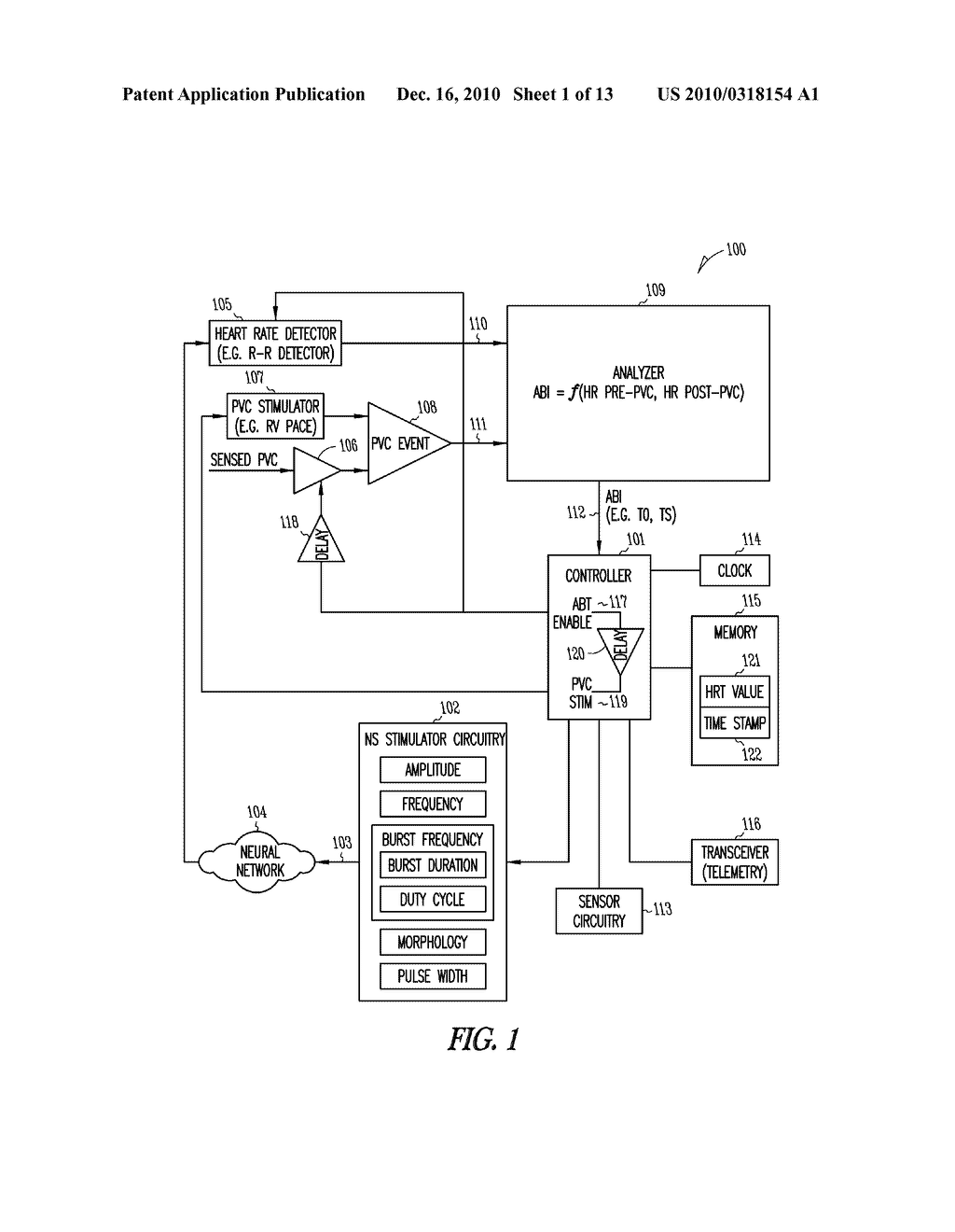 SYSTEM AND METHOD FOR TESTING NEURAL STIMULATION THRESHOLD - diagram, schematic, and image 02