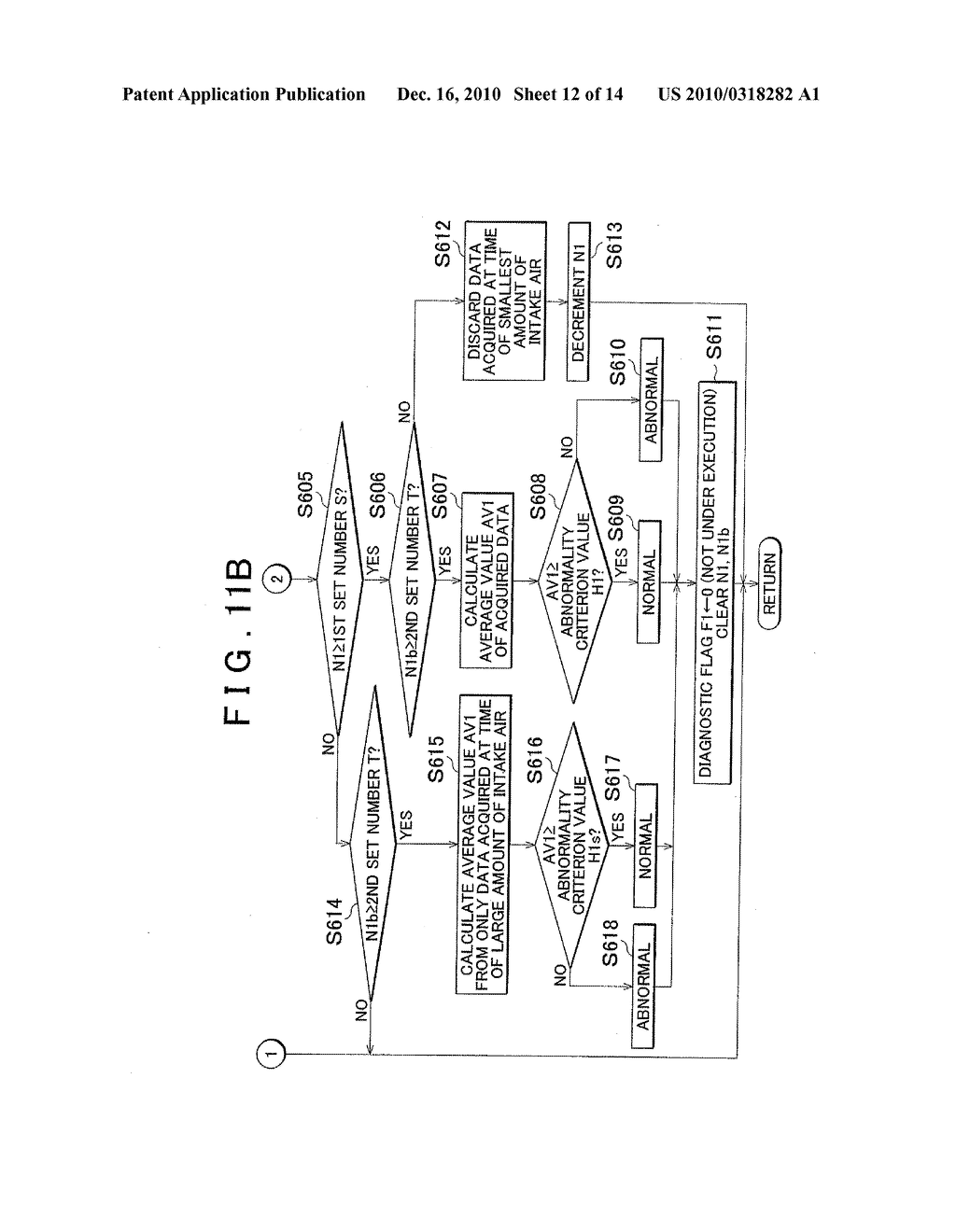 ABNORMALITY DETECTION APPARATUS AND ABNORMALITY DETECTION METHOD FOR AIR/FUEL RATIO SENSOR - diagram, schematic, and image 13