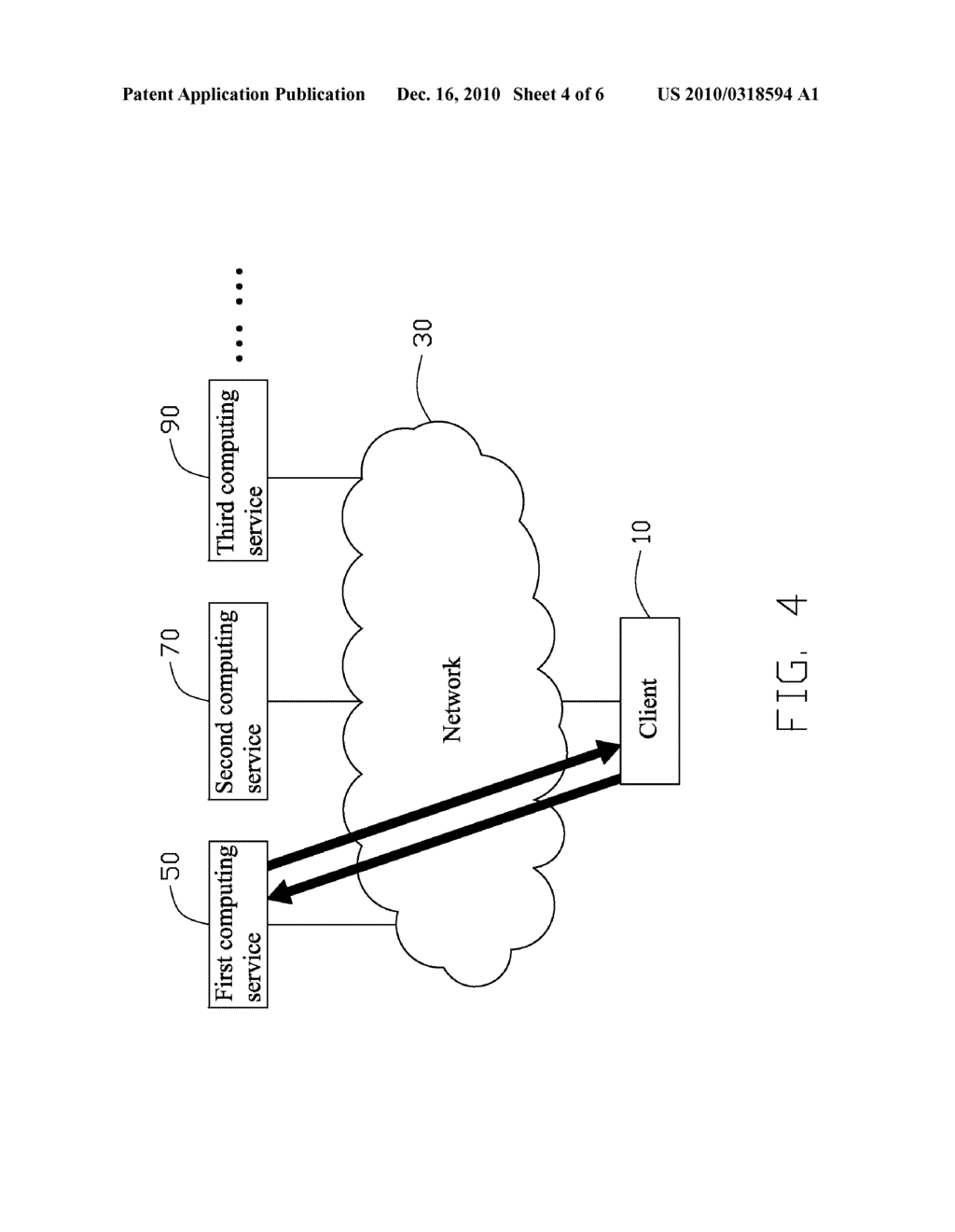 COMPUTING SERVICE SYSTEM AND METHOD FOR EMPLOYING COMPUTING SERVICE - diagram, schematic, and image 05