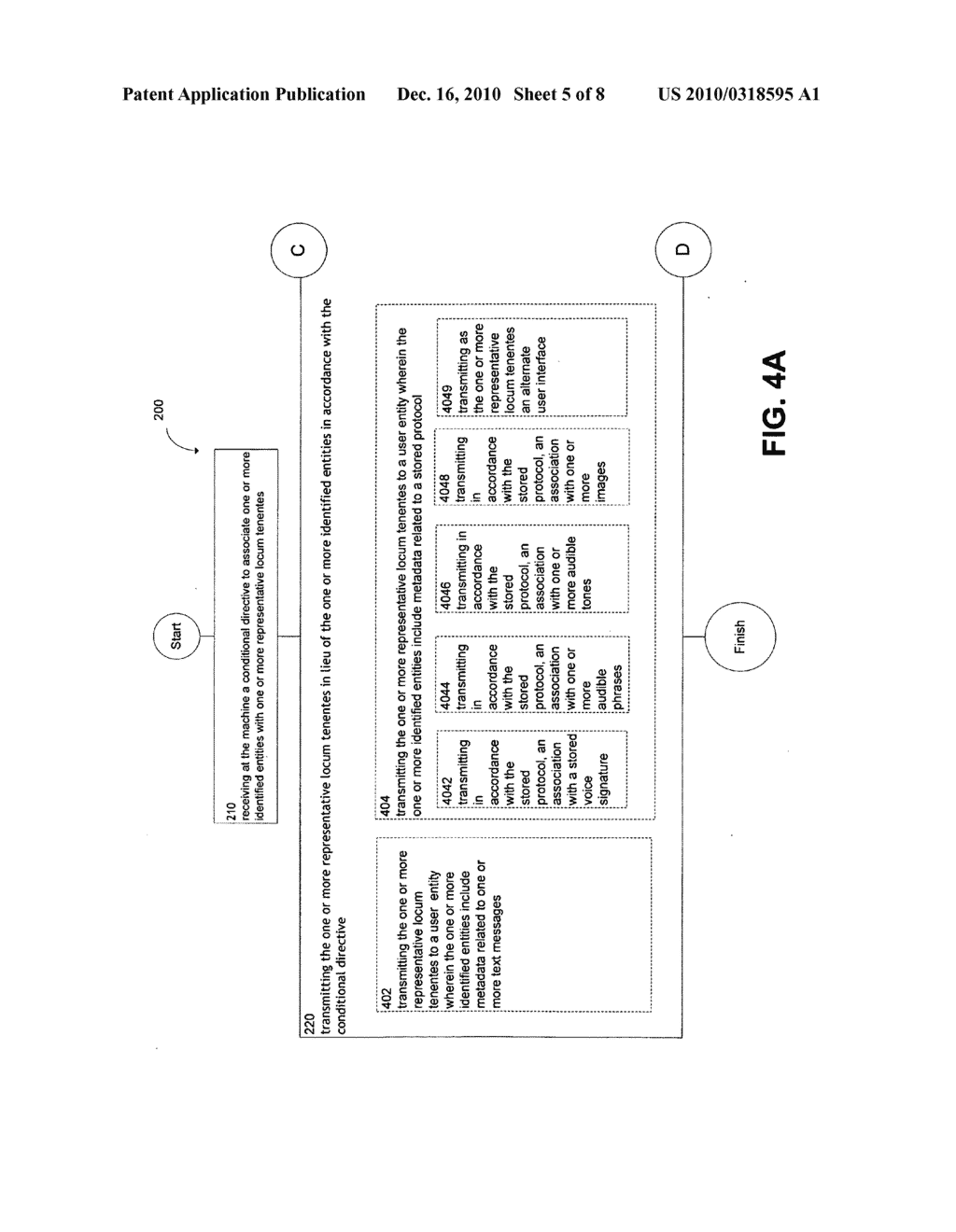System and method for conditionally transmitting one or more locum tenentes - diagram, schematic, and image 06