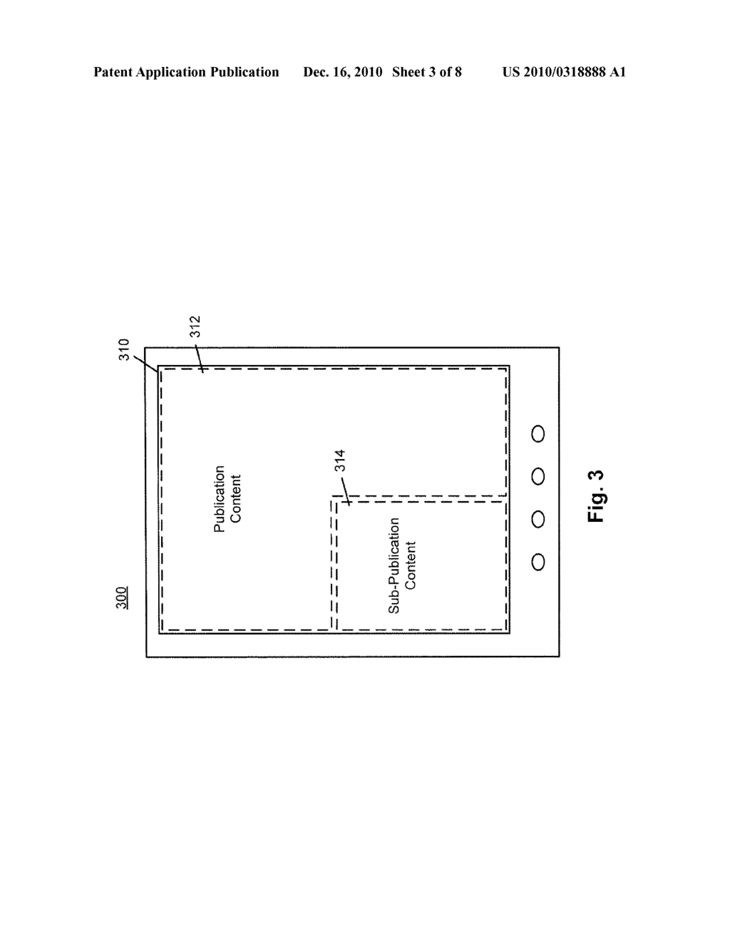 SYSTEM AND METHOD FOR PROVIDING SUB-PUBLICATION CONTENT IN AN ELECTRONIC DEVICE - diagram, schematic, and image 04