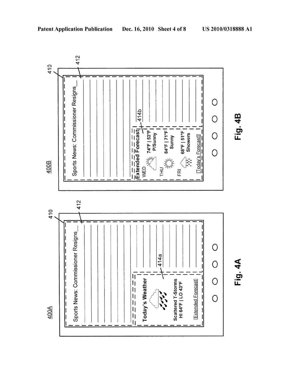 SYSTEM AND METHOD FOR PROVIDING SUB-PUBLICATION CONTENT IN AN ELECTRONIC DEVICE - diagram, schematic, and image 05