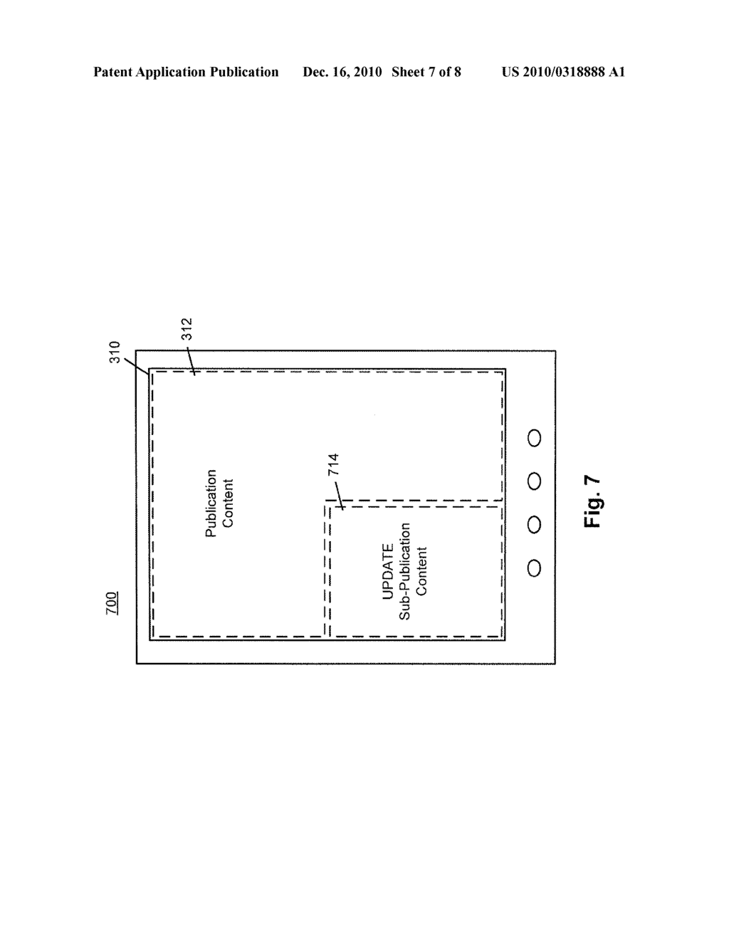 SYSTEM AND METHOD FOR PROVIDING SUB-PUBLICATION CONTENT IN AN ELECTRONIC DEVICE - diagram, schematic, and image 08