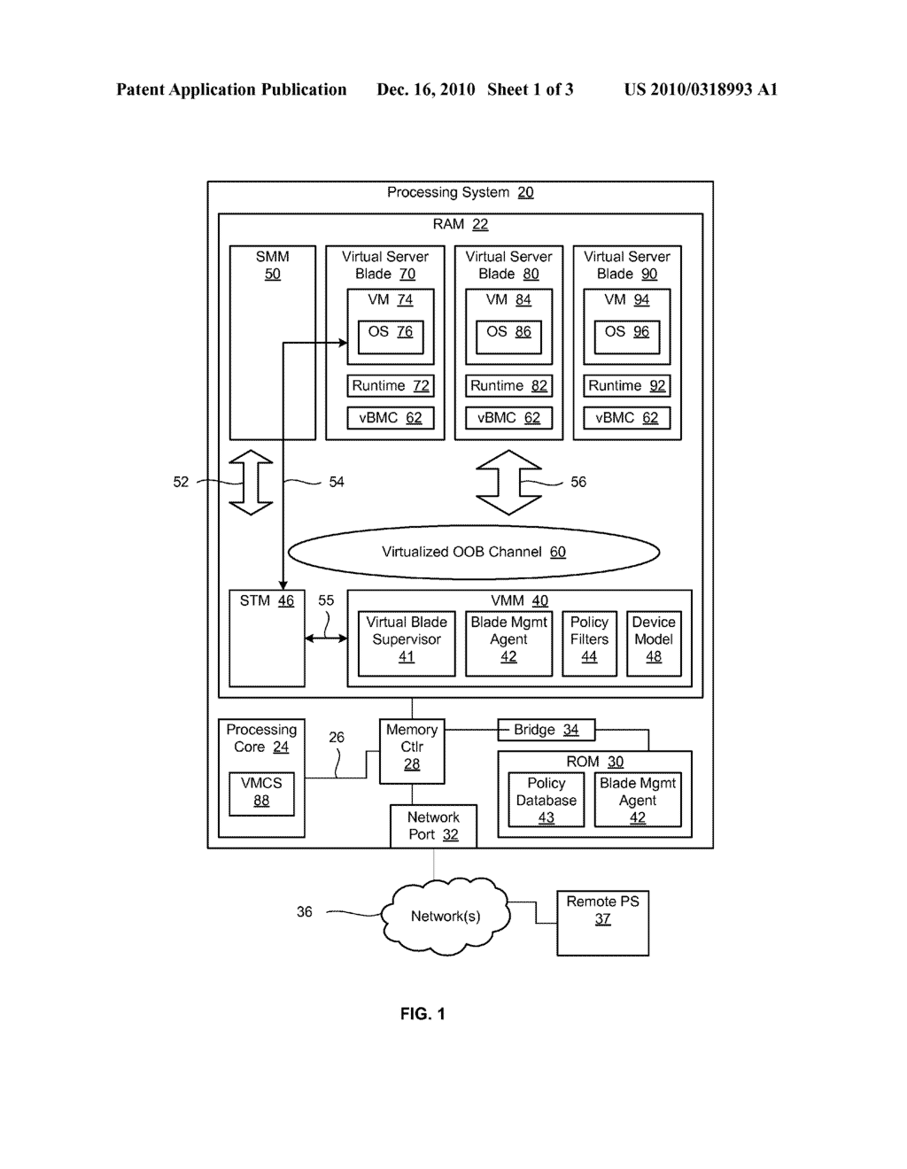 METHOD AND APPARATUS FOR PROVIDING VIRTUAL SERVER LADES - diagram, schematic, and image 02