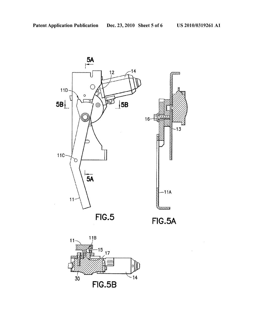 ELECTRIC SWING PLUG DOOR OPERATOR WITH AUXILIARY DOOR LOCKING MECHANISM - diagram schematic and image 06