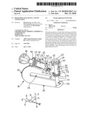 BRAKE DISK LOCK HAVING A TILTED LOCKING BOLT diagram and image