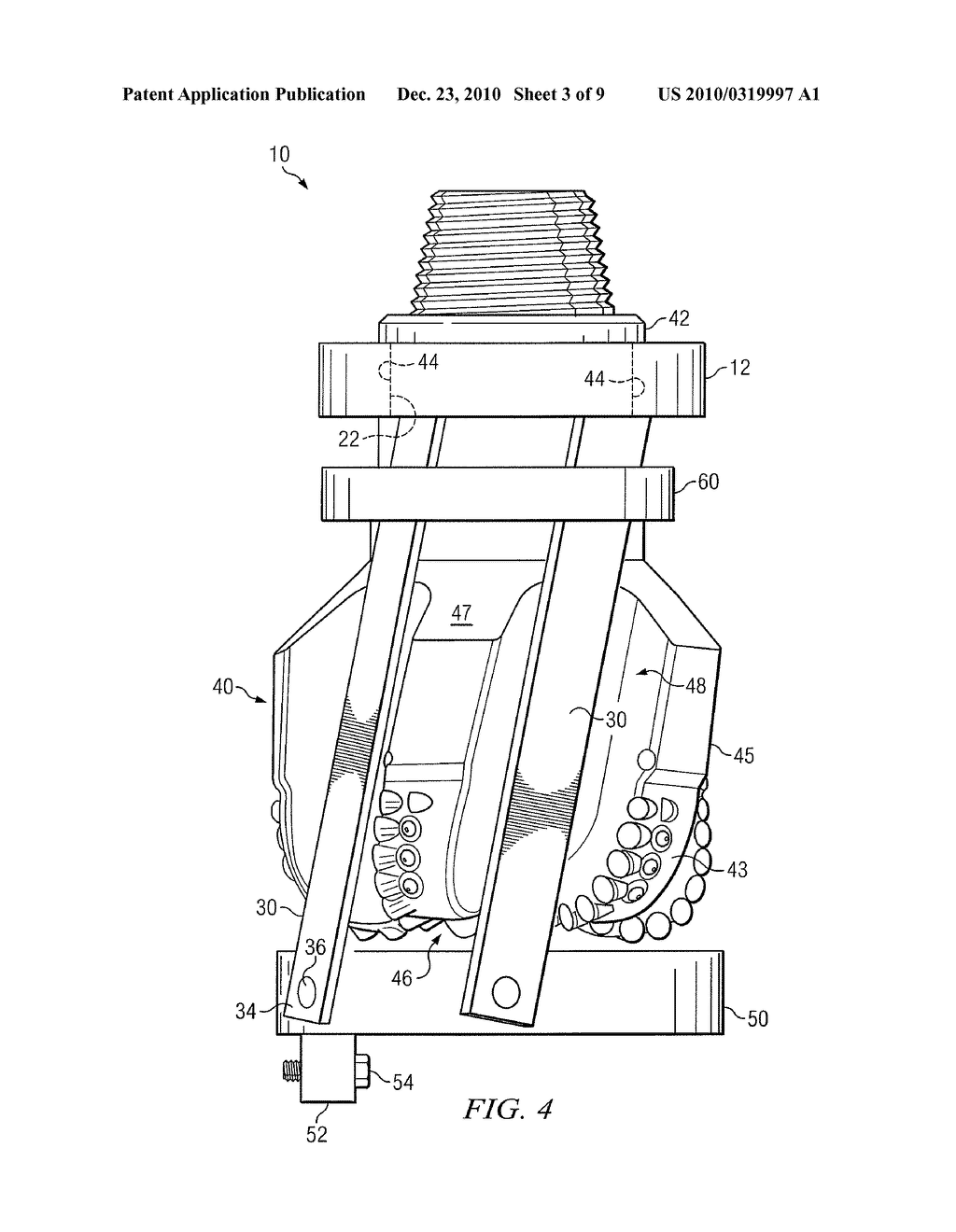 WHIPSTOCK ATTACHMENT TO A FIXED CUTTER DRILLING OR MILLING BIT - diagram, schematic, and image 04