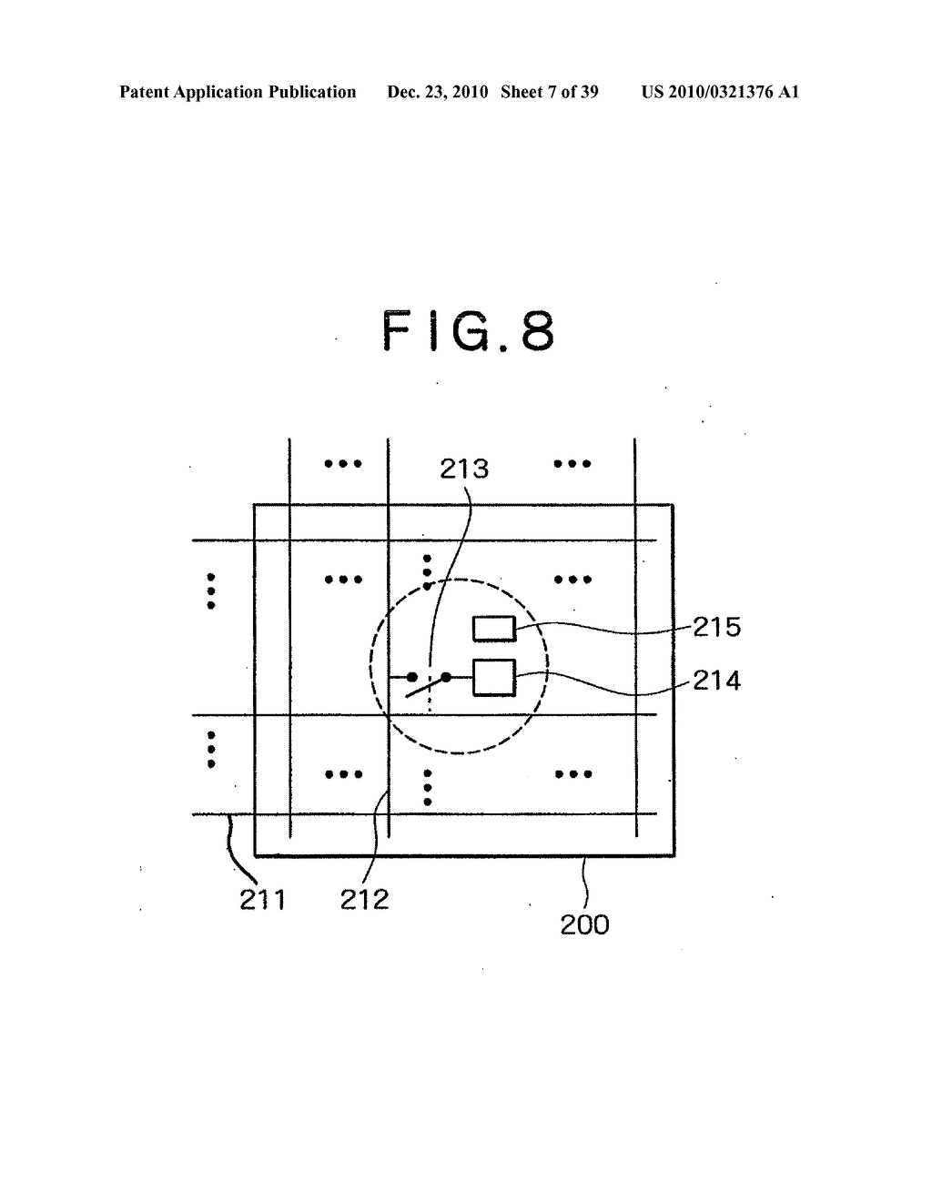 LIQUID CRYSTAL DISPLAY DEVICE, AND METHOD AND CIRCUIT FOR DRIVING LIQUID CRYSTAL DISPLAY DEVICE - diagram, schematic, and image 08