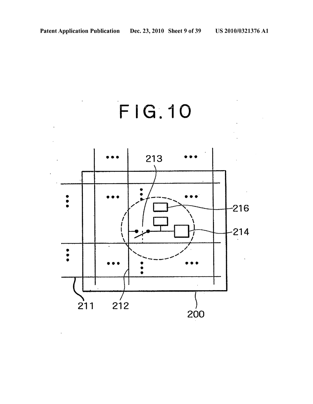 LIQUID CRYSTAL DISPLAY DEVICE, AND METHOD AND CIRCUIT FOR DRIVING LIQUID CRYSTAL DISPLAY DEVICE - diagram, schematic, and image 10