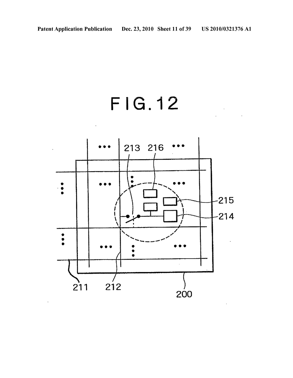 LIQUID CRYSTAL DISPLAY DEVICE, AND METHOD AND CIRCUIT FOR DRIVING LIQUID CRYSTAL DISPLAY DEVICE - diagram, schematic, and image 12