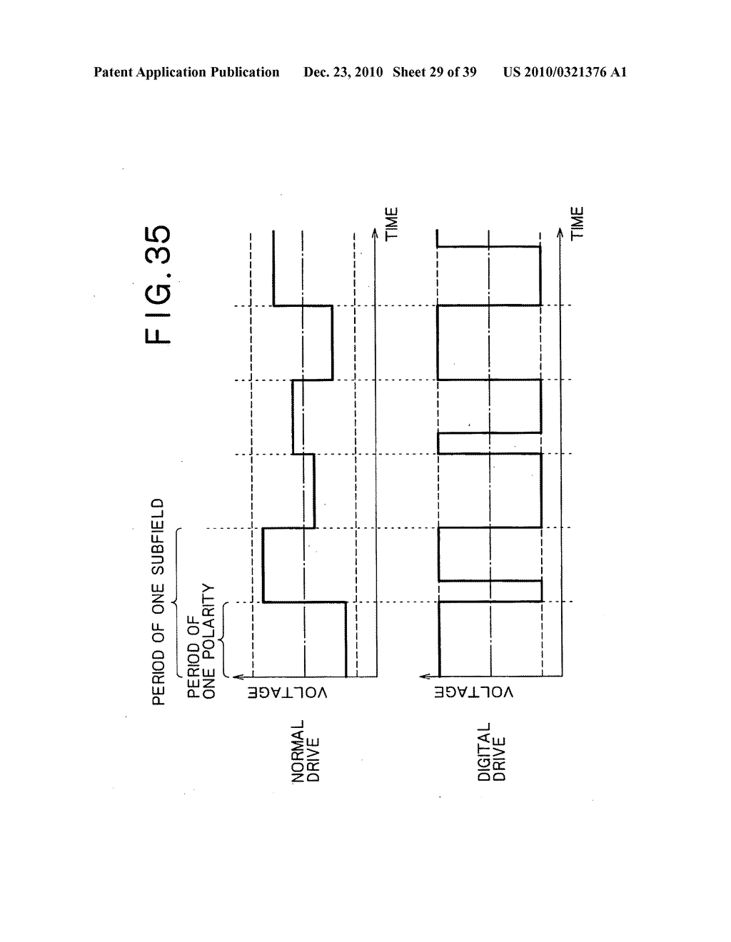 LIQUID CRYSTAL DISPLAY DEVICE, AND METHOD AND CIRCUIT FOR DRIVING LIQUID CRYSTAL DISPLAY DEVICE - diagram, schematic, and image 30