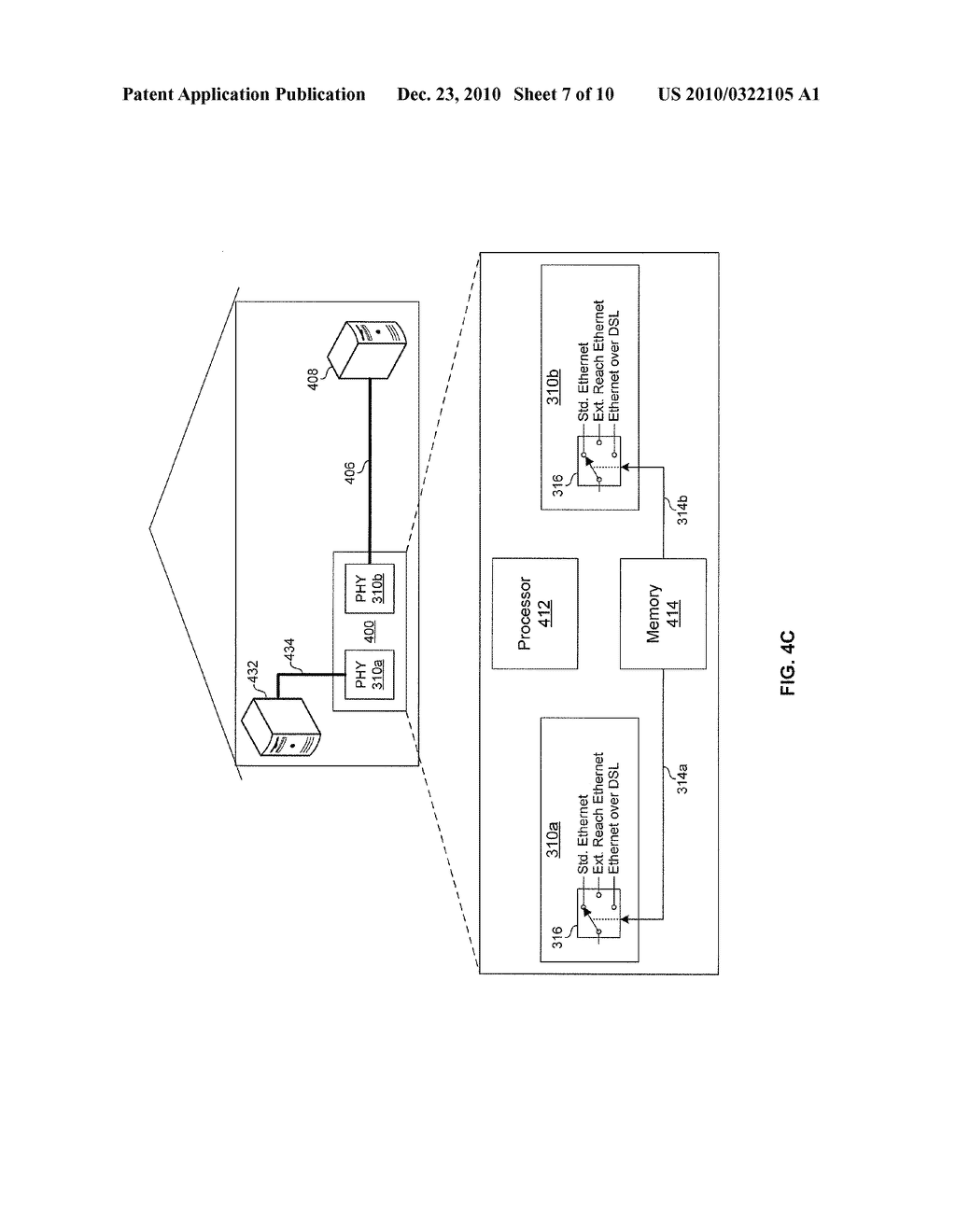 METHOD AND SYSTEM FOR NETWORK COMMUNICATIONS VIA A CONFIGURABLE MULTI-USE ETHERNET PHY - diagram, schematic, and image 08