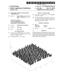 Polymeric material with surface microdomains diagram and image