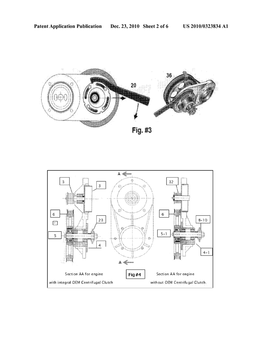 CENTRIFUGAL CLUTCH TIMING BELT POWER TRANSMISSION CONTROL SYSTEM FOR A  SMALL GASOLINE ENGINE - diagram, schematic, and image 03