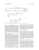 COMPOUNDS AND COMPOSITIONS AS PROTEIN KINASE INHIBITORS diagram and image