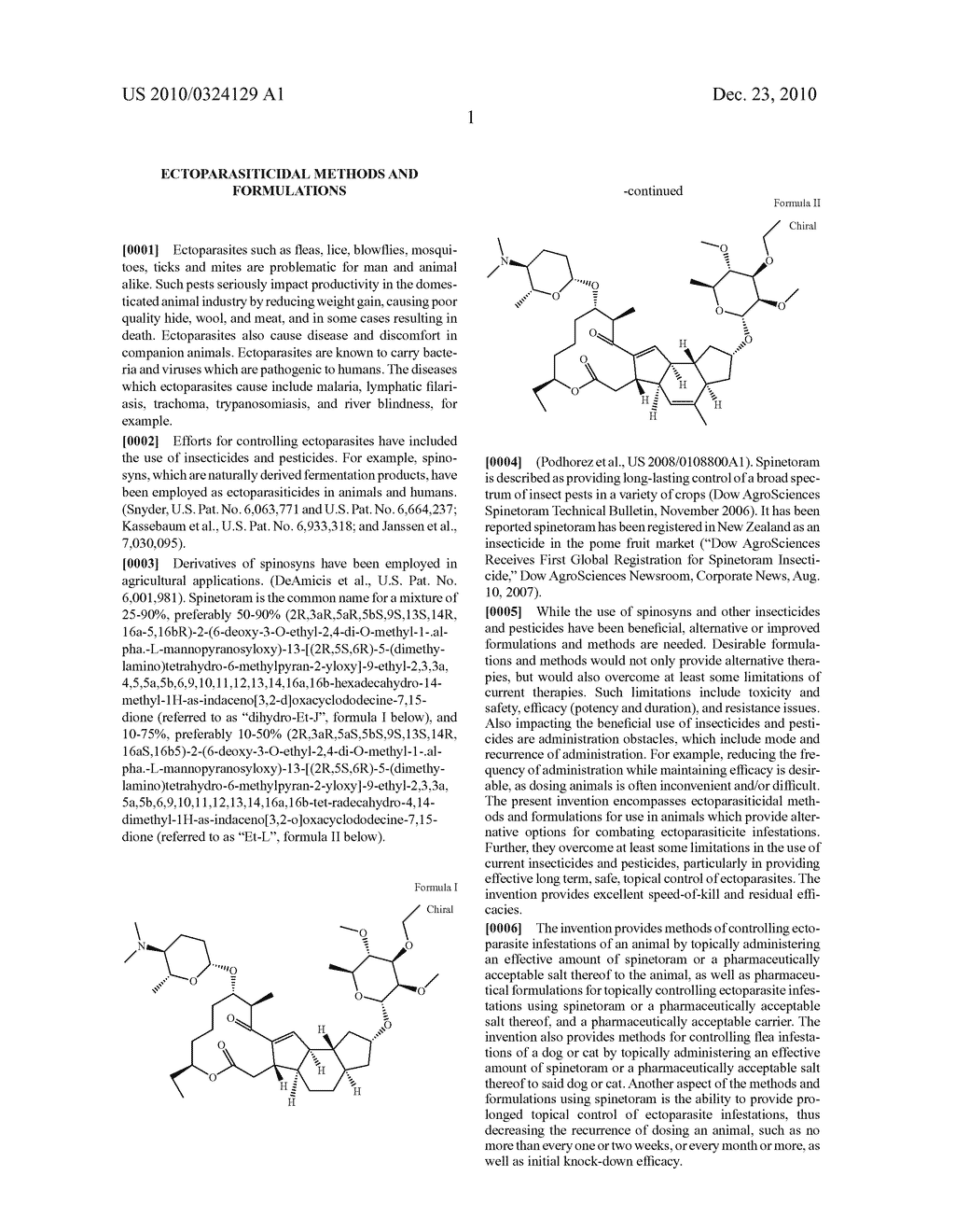 ECTOPARASITICIDAL METHODS AND FORMULATIONS - diagram, schematic, and image 02