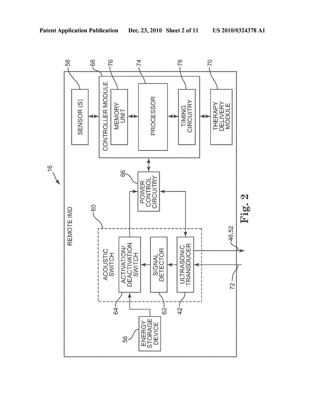 PHYSIOLOGIC SIGNAL MONITORING USING ULTRASOUND SIGNALS FROM IMPLANTED DEVICES - diagram, schematic, and image 03