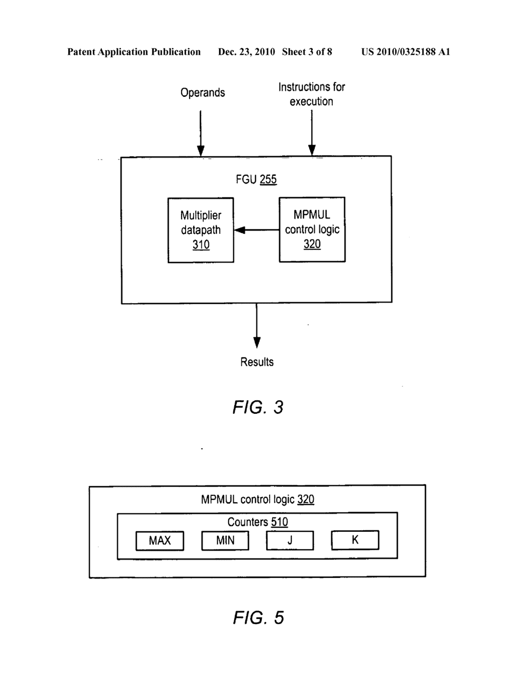 PROCESSOR AND METHOD FOR IMPLEMENTING INSTRUCTION SUPPORT FOR MULTIPLICATION OF LARGE OPERANDS - diagram, schematic, and image 04