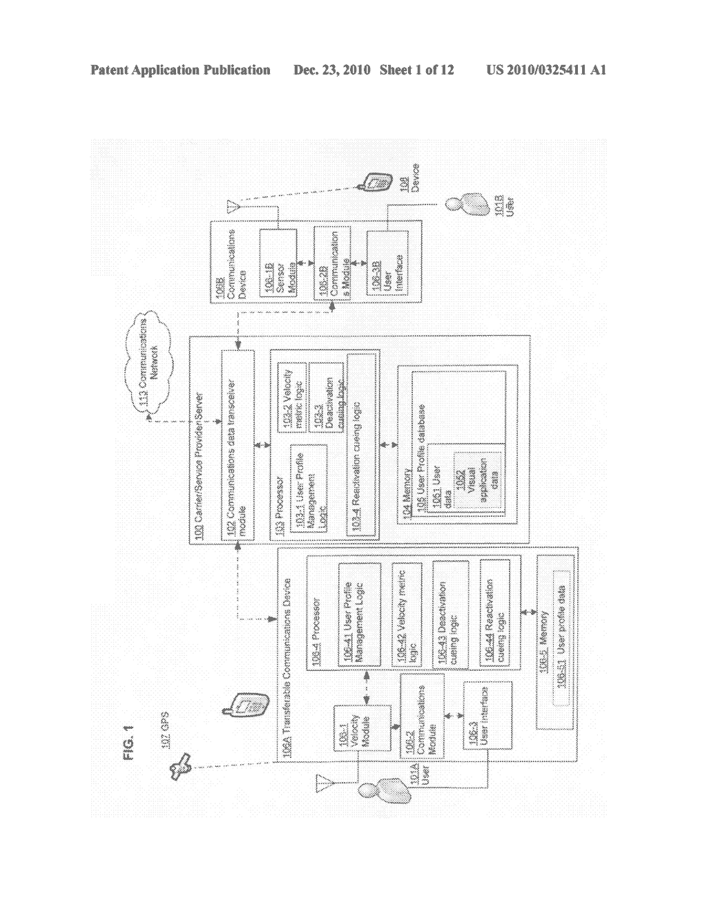 Deactivation system and method for a transferable device - diagram, schematic, and image 02