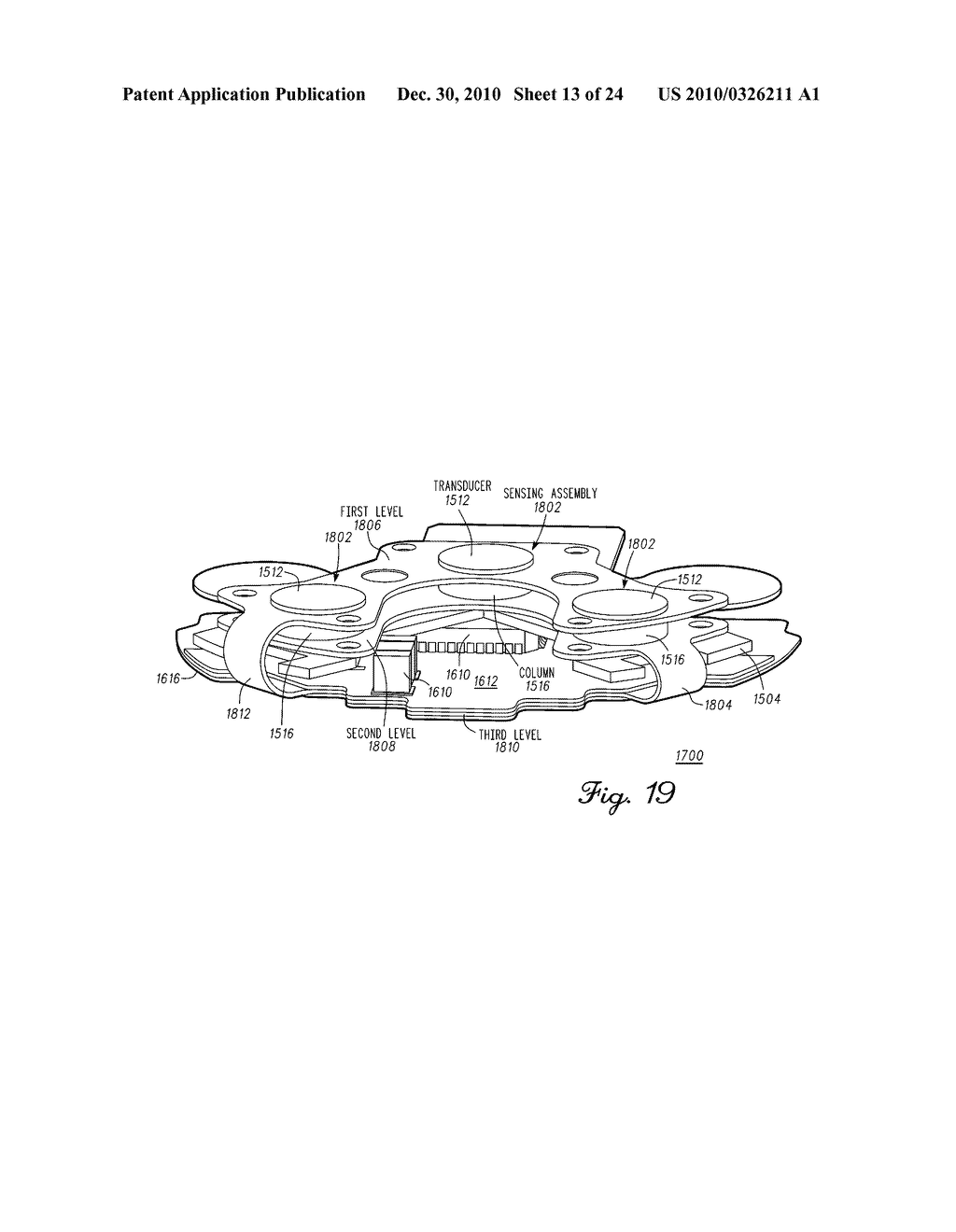 SENSING MODULE HAVING A PIEZO-RESISTIVE SENSOR FOR ORTHOPEDIC LOAD SENSING INSERT DEVICE - diagram, schematic, and image 14