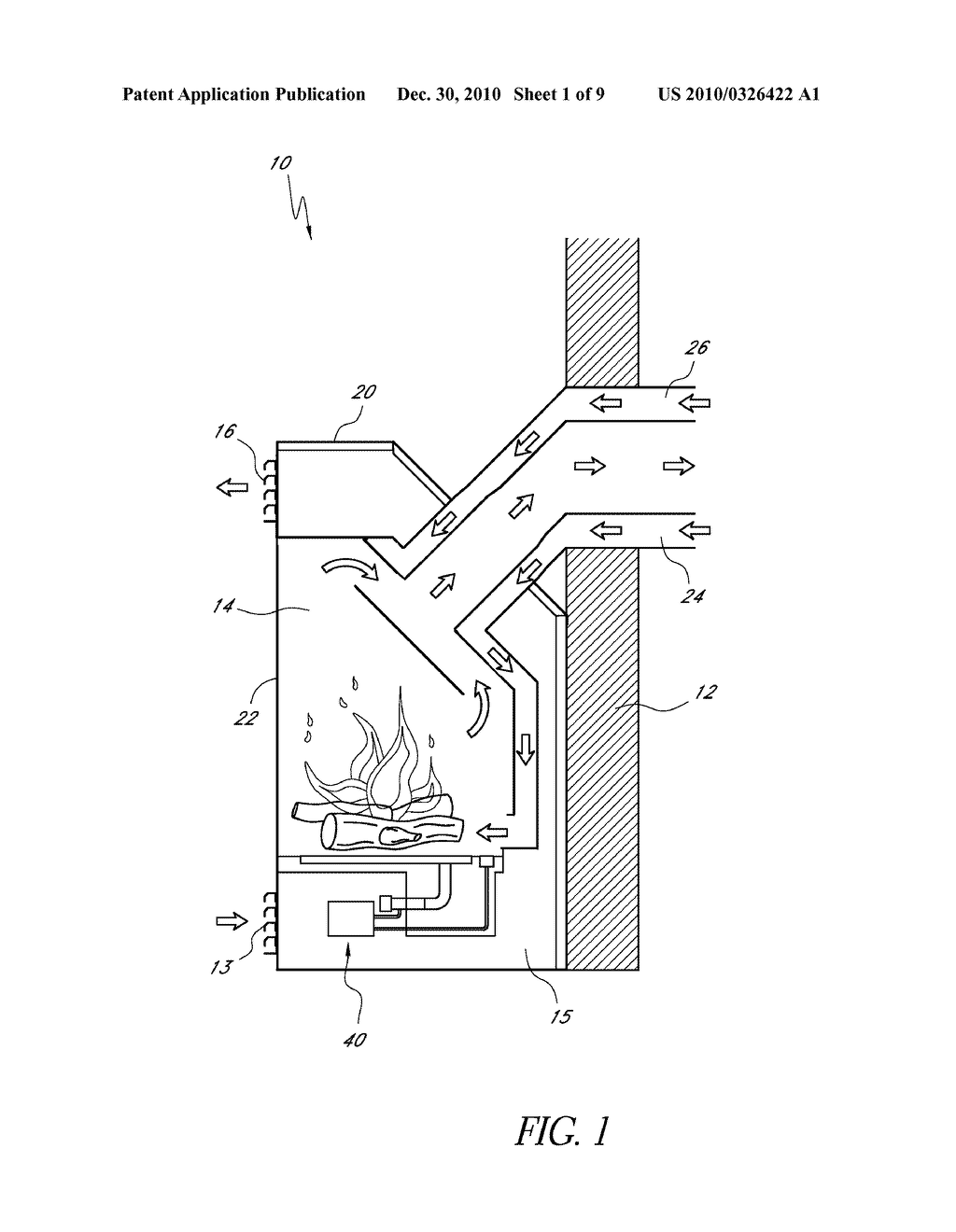 HEATING APPARATUS WITH AIR SHUTTER ADJUSTMENT - diagram, schematic, and image 02
