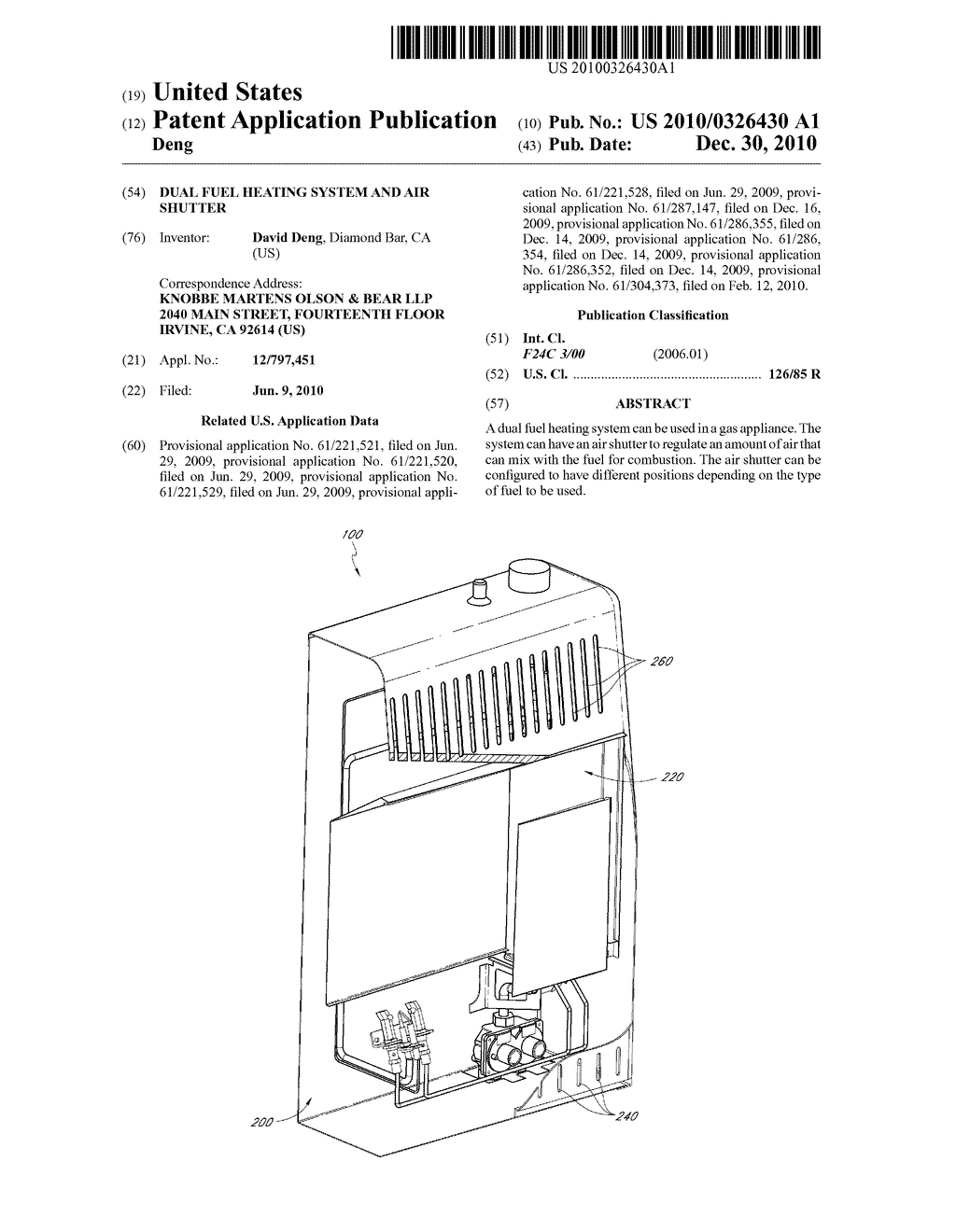 DUAL FUEL HEATING SYSTEM AND AIR SHUTTER - diagram, schematic, and image 01