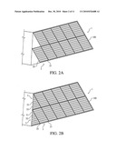 Simulated photovoltaic module and array including same diagram and image