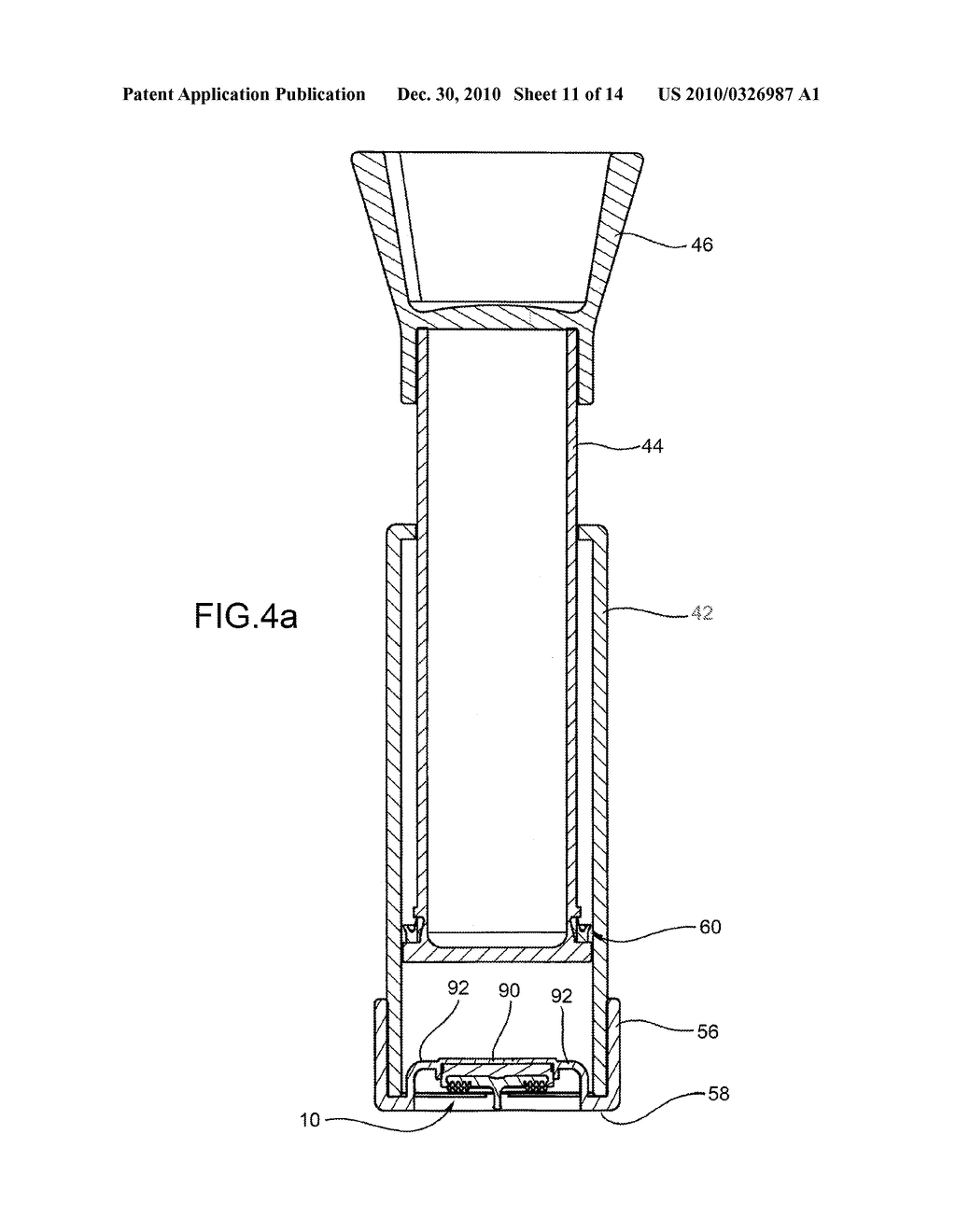 VACUUM PACKAGING IN CONTAINERS PROVIDED WITH AN AIR-TIGHT CLOSING LID - diagram, schematic, and image 12