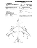 METHOD AND DEVICE FOR LATERALLY TRIMMING AN AIRPLANE DURING A FLIGHT diagram and image