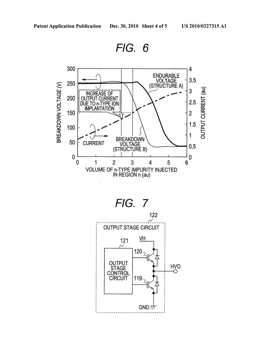 SEMICONDUCTOR DEVICE, SEMICONDUCTOR INTEGRATED CIRCUIT DEVICE FOR USE OF DRIVING PLASMA DISPLAY WITH USING SAME, AND PLASMA DISPLAY APPARATUS - diagram, schematic, and image 05