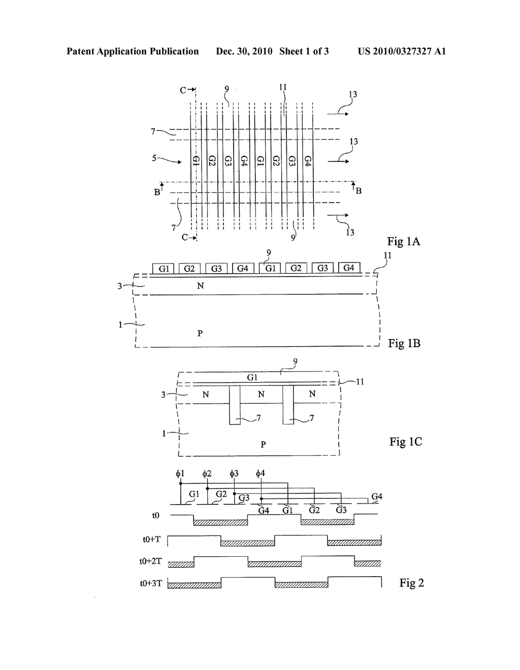 PHOTOSENSITIVE CHARGE-COUPLED DEVICE COMPRISING VERTICAL ELECTRODES - diagram, schematic, and image 02