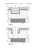 VIA GOUGED INTERCONNECT STRUCTURE AND METHOD OF FABRICATING SAME diagram and image