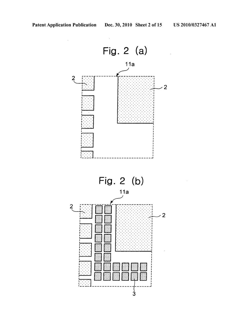 Method of processing dummy pattern based on boundary length and density of wiring pattern, semiconductor design apparatus and semiconductor device - diagram, schematic, and image 03
