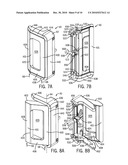 SLIDING DOOR HANDLE AND LATCH diagram and image