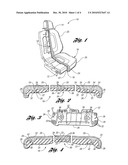 VEHICLE SEAT ASSEMBLY HAVING LAYERED SEATING SYSTEM diagram and image