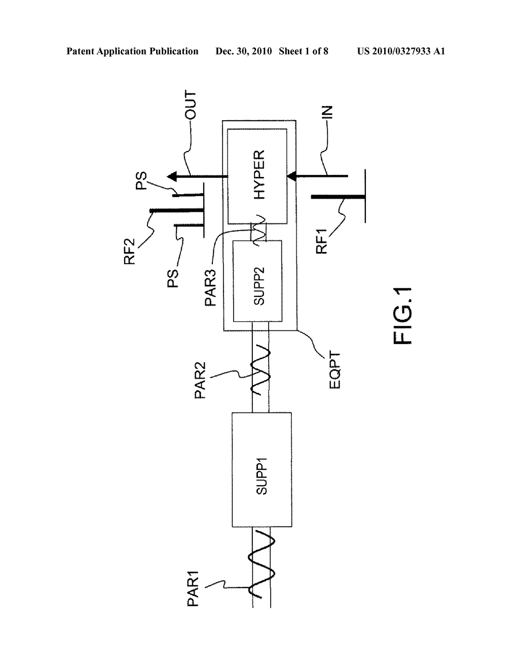 ELECTRONIC DEVICE FOR MICROWAVE APPARATUSES ONBOARD A SATELLITE - diagram, schematic, and image 02