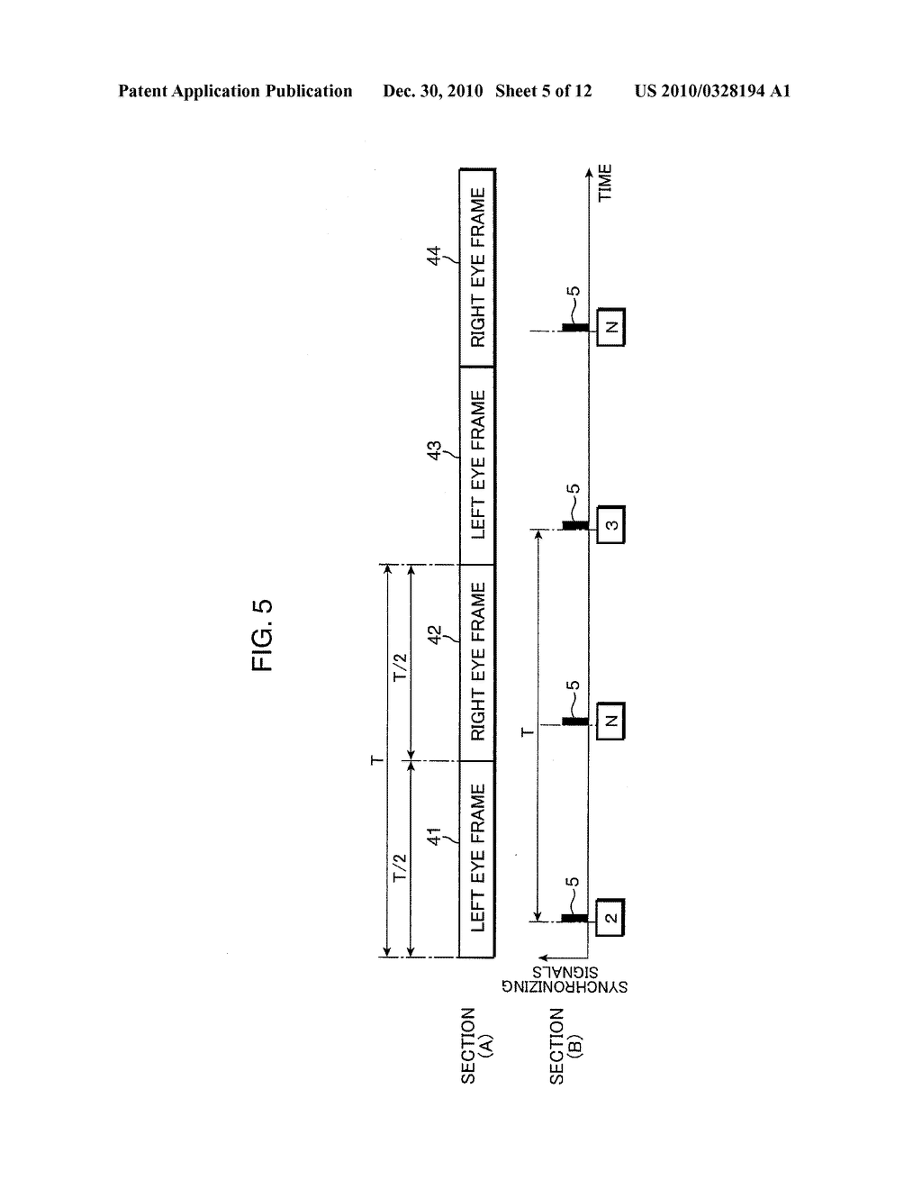 Display device, eyeglass device and video system with them - diagram, schematic, and image 06