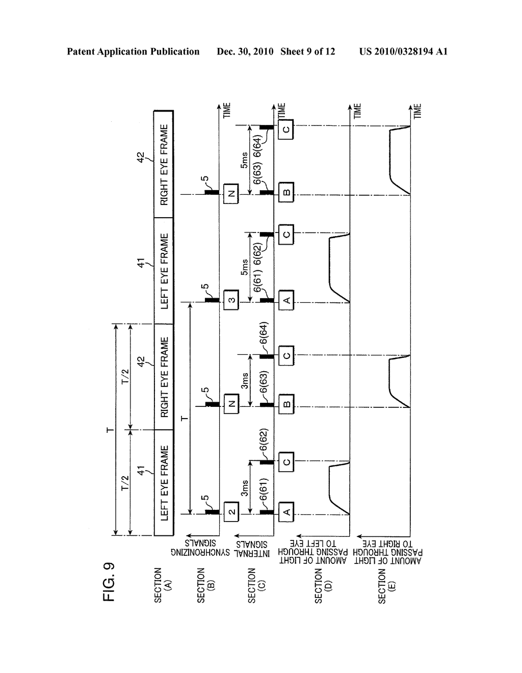 Display device, eyeglass device and video system with them - diagram, schematic, and image 10