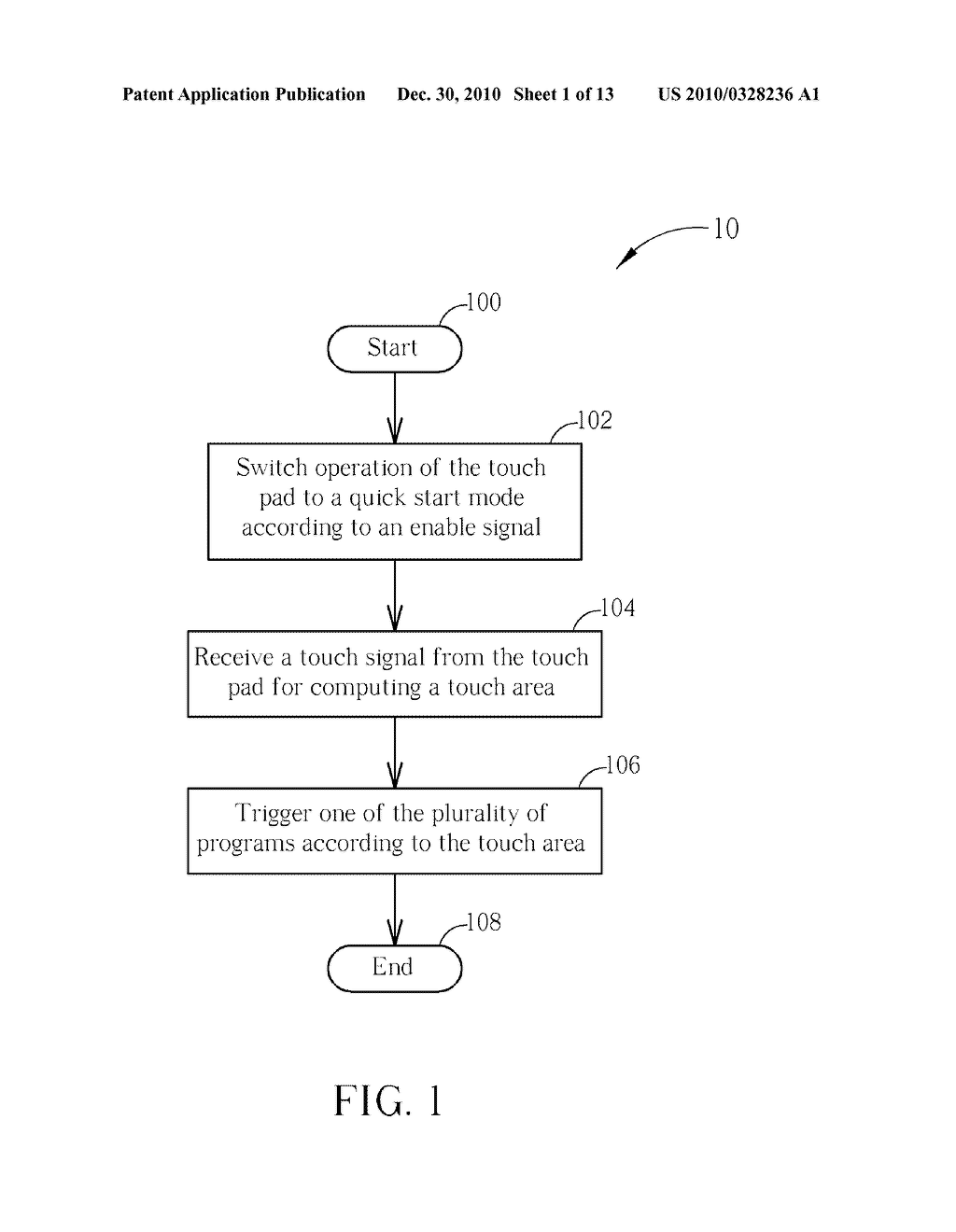 Method for Controlling a Computer System and Related Computer System - diagram, schematic, and image 02