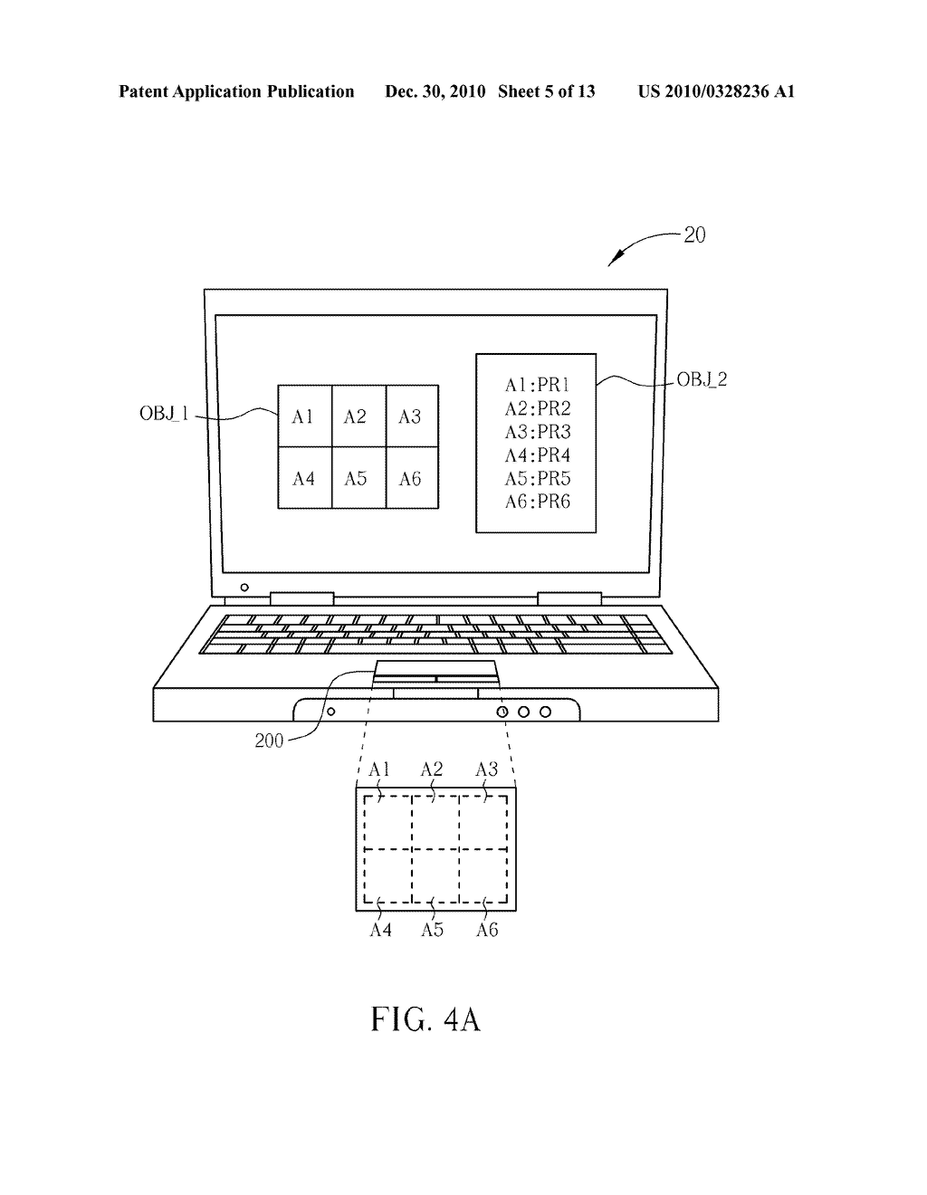 Method for Controlling a Computer System and Related Computer System - diagram, schematic, and image 06