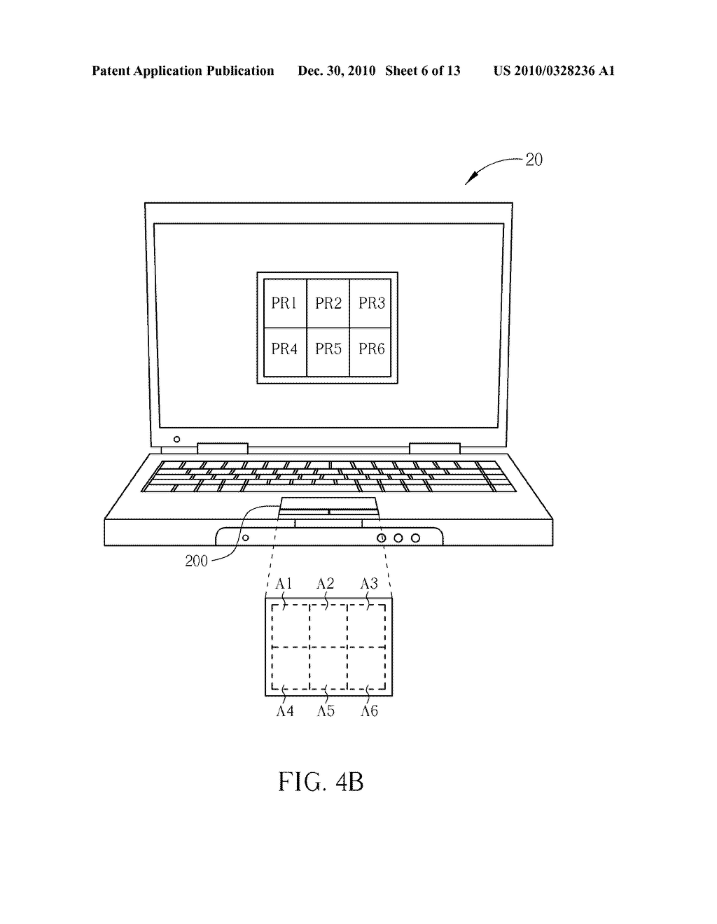 Method for Controlling a Computer System and Related Computer System - diagram, schematic, and image 07