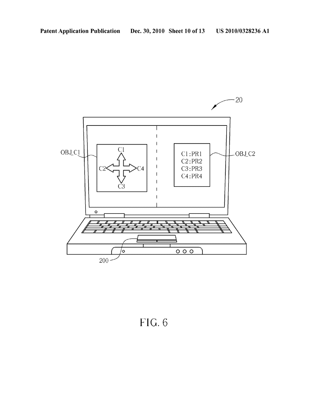 Method for Controlling a Computer System and Related Computer System - diagram, schematic, and image 11