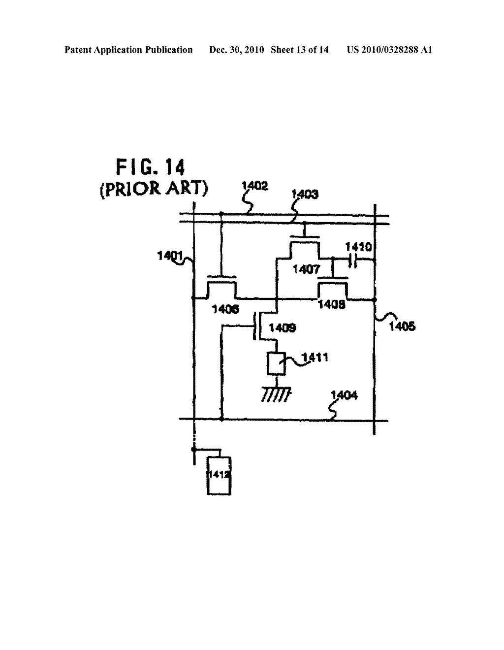 SEMICONDUCTOR INTEGRATED CIRCUIT AND METHOD OF DRIVING THE SAME - diagram, schematic, and image 14