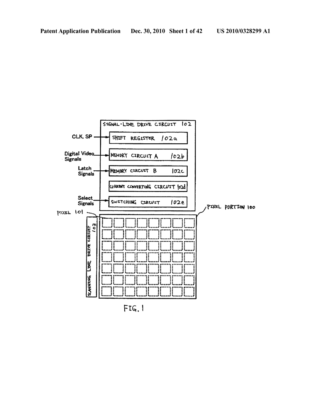 LIGHT EMITTING DEVICE, DRIVING METHOD OF LIGHT EMITTING DEVICE AND ELECTRONIC DEVICE - diagram, schematic, and image 02