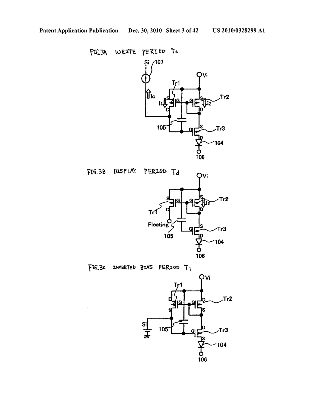 LIGHT EMITTING DEVICE, DRIVING METHOD OF LIGHT EMITTING DEVICE AND ELECTRONIC DEVICE - diagram, schematic, and image 04