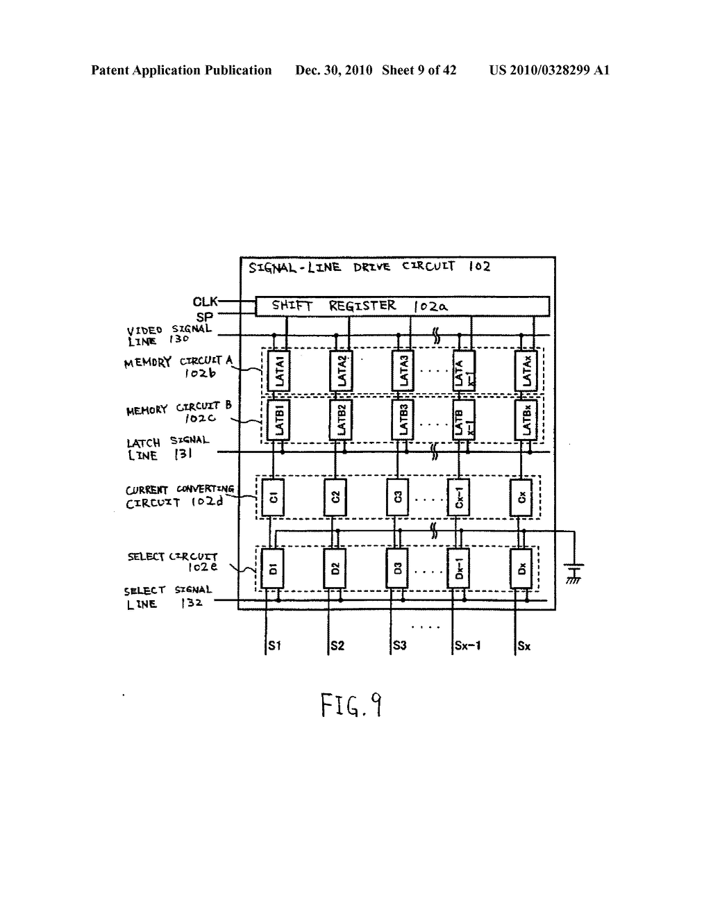 LIGHT EMITTING DEVICE, DRIVING METHOD OF LIGHT EMITTING DEVICE AND ELECTRONIC DEVICE - diagram, schematic, and image 10