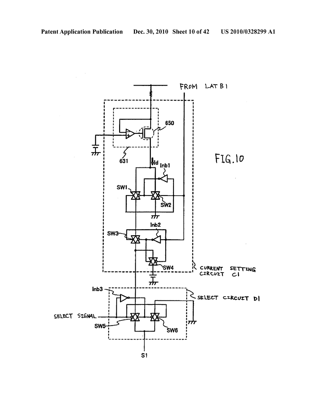 LIGHT EMITTING DEVICE, DRIVING METHOD OF LIGHT EMITTING DEVICE AND ELECTRONIC DEVICE - diagram, schematic, and image 11