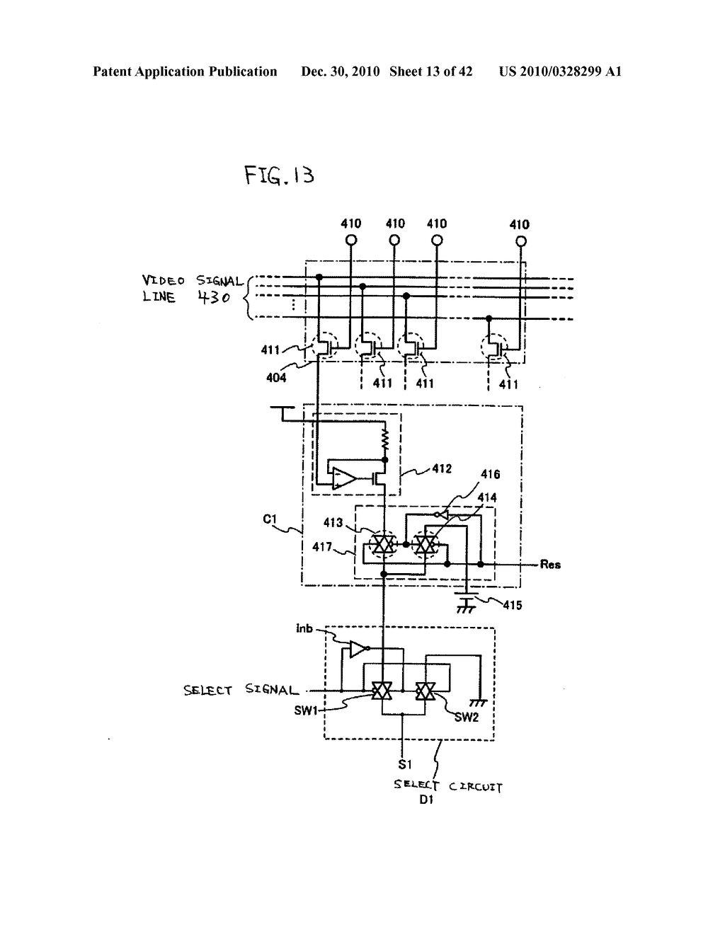 LIGHT EMITTING DEVICE, DRIVING METHOD OF LIGHT EMITTING DEVICE AND ELECTRONIC DEVICE - diagram, schematic, and image 14