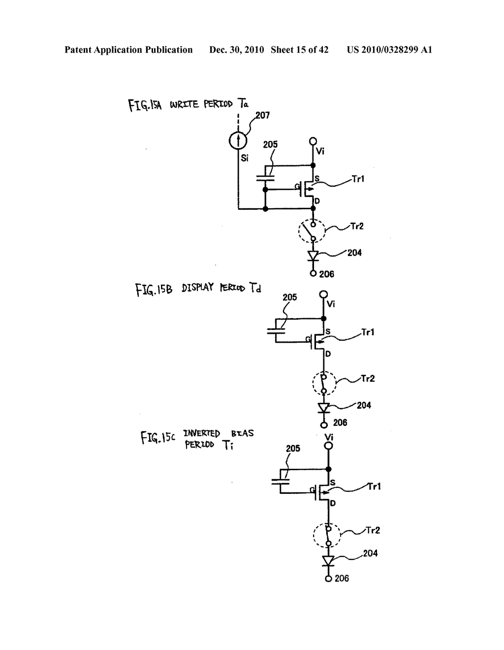 LIGHT EMITTING DEVICE, DRIVING METHOD OF LIGHT EMITTING DEVICE AND ELECTRONIC DEVICE - diagram, schematic, and image 16